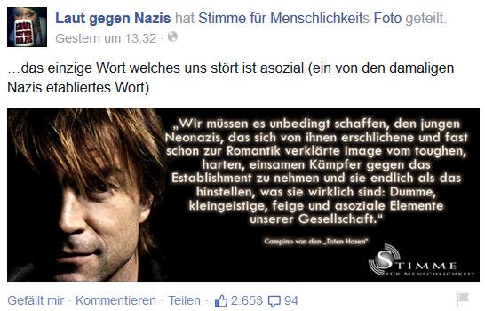 Campino gegen Nazis