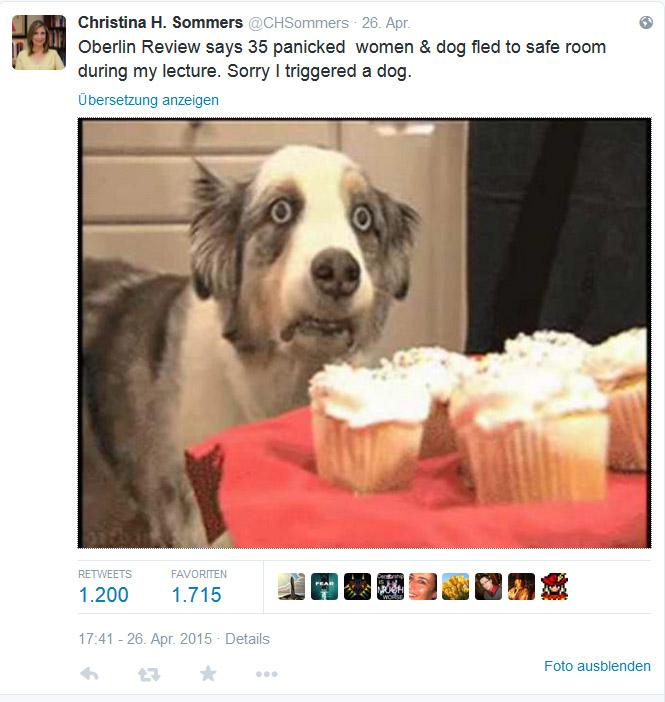 CHS triggerte 35 Frauen und einen Hund