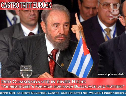 Bumsfidel Castro