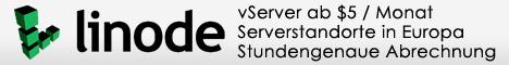 vServer und mehr bei Linode.com