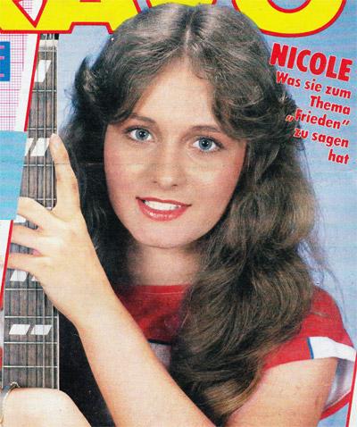 Was hat Nicole zum Thema Frieden zu sagen
