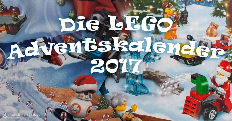Was ist in den Lego-Adventskalendern 2017