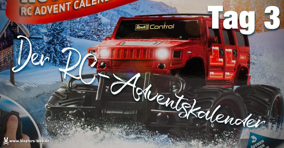 Der Revell RC-Adventskalender - Tag 3