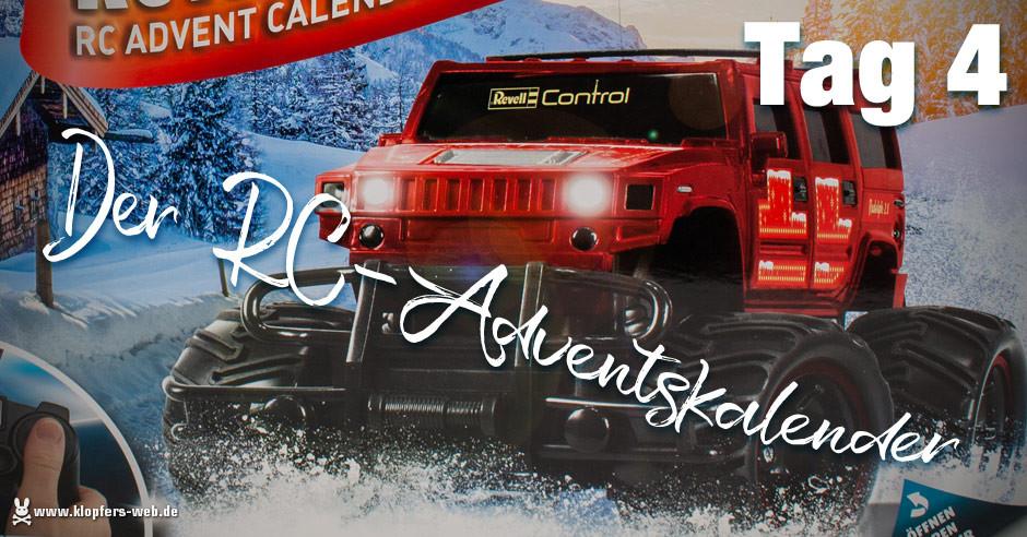 Der Revell RC-Adventskalender - Tag 4