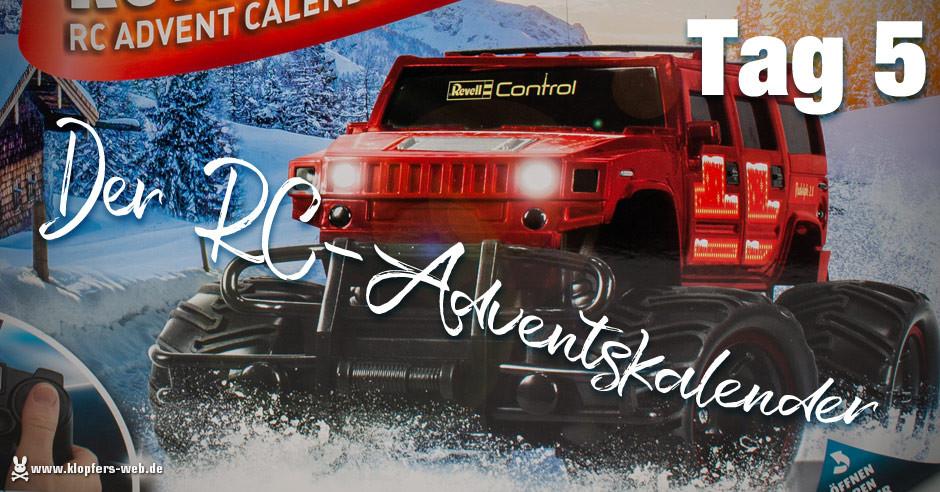 Der Revell RC-Adventskalender - Tag 5
