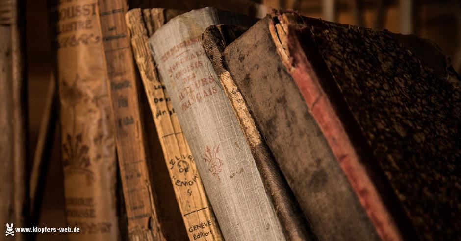 Schreibhilfe und neuer alter Lesestoff