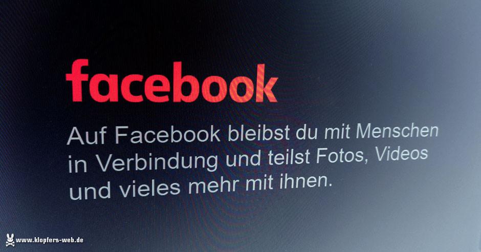Gefährliches Facebook?