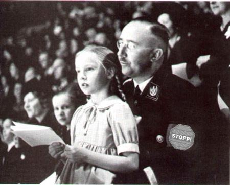 Himmler mit Loli