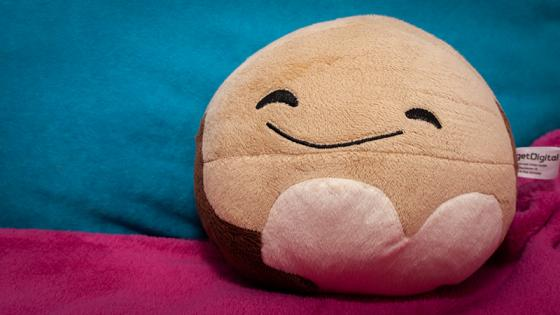 Pluto zum Kuscheln